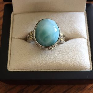 Jewelry - Beautiful Larimar Ring